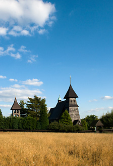 Kościół w Palowicach latem, fot. Łukasz Malcharek